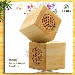 Multi-function original green wood mini speaker hand made