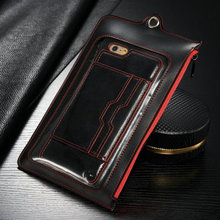 iCase Retail package for iPhone for Samsung, Retail pu Leather box for 5.5 and 4.7
