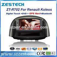 ZESTECH 7 inch In-dash Car dvd headunit for Renault Koleos car radio with Car Audio Navigation system