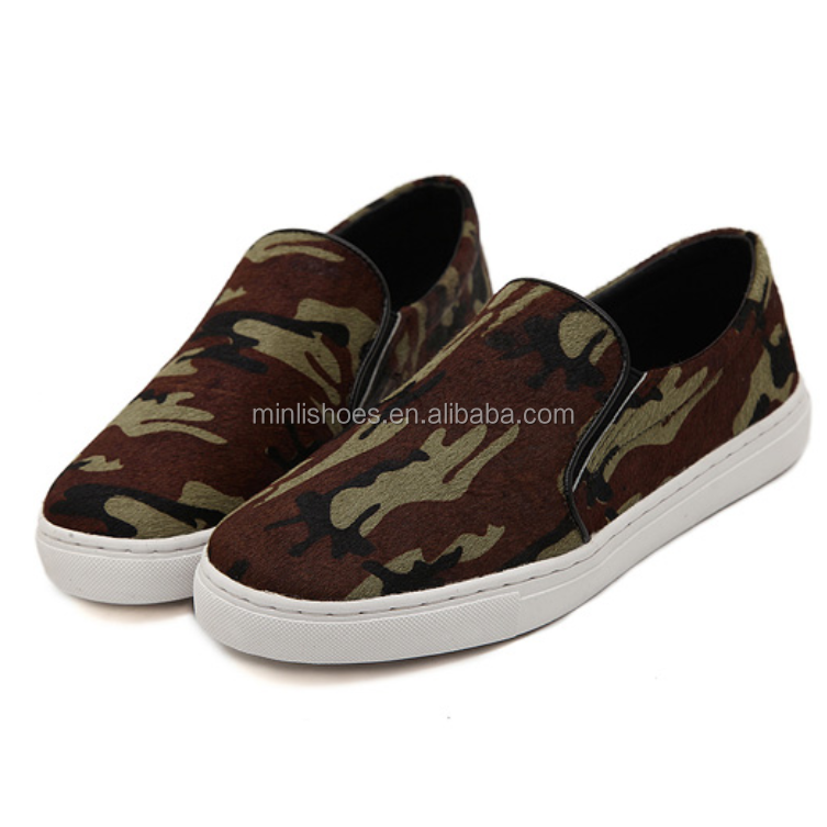 camouflage toe slip on shoes made in china buy
