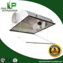 hydroponics grow light 1000w double ended air cool tube reflector /aluminum lamp shade