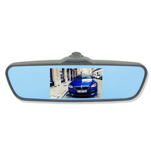 High quality hd 1080p GPS rearview mirror,rearview mirror radar detector with ce certificate