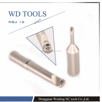 Micro NBJ 16 boring tools set /high hardness boring tool bars /cutting tool bar