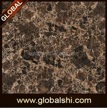 Dark Emperador brown Marble Look 600x600 800x800 Chinese porcelain tile price