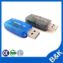Griechenland usb sound card midi with CE certificate