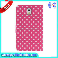 Polka Dots Purse Design Flip Leather Wallet Case For Samsung Galaxy Note 3 N9000