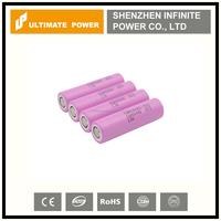 Wholesale hot selling samsung 30q 3000mah 18650 lithium ion battery 15a discharge rate high drain battery for factory price