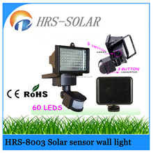 Super bright 60LED solar power security light,solar sensor light