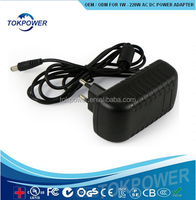 2 Amp 2000MA 12V 12 VOLT AC DC POWER SUPPLY ADAPTER for CCTV Security Camera