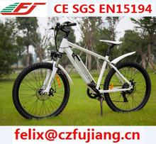 2015 fashion electric bike male electric bike mountain bike