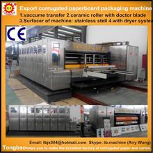 Dongguang corrugated paperboard flexo printing machine China supplier