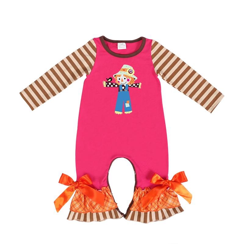 Enfants En Gros Fantaisie Épouvantail Bébé Salopette de Carter Bébé Vêtements