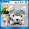 New design husky dog animal toy with Intelligent dialogue