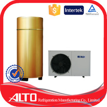 Alto SHW-200 quality certified electrical domestic hot water heat pump water heater use solar energy capacity up to 20kw/h