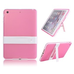 LETSVIEW Top Rated Best Selling 2015 New Soft Crystal Clear Back Cover with Stand Tablet PC Accessories for Ipad Mini 1/2/3 Bag