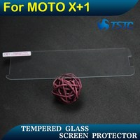Professional screen guard clear phone protector for moto X+1 transparency screen protector