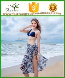 lasted fashion sunflower printed beach dress 2015 wholesale