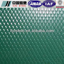 galvanized Emossed color coated sheet in coil/PPGI/0.13~0.8mm