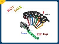 Factory Price Motorcycle accessories New CNC Foldable Clutch Brake Levers For Suzuki Yamaha Honda Kawasaki