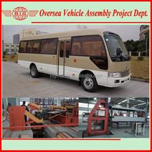30 Seats Diesel Engine Price Brand New Toyota Style Coaster Mini Bus