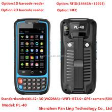 4.0inch IPS Sun Light Readable BT 4.0 handheld scanner