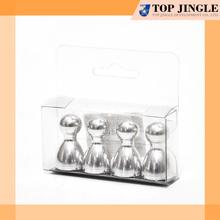 4 pcs bowling shape souvenir 3d fridge magnet