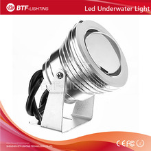 10W led underwater light Red Color 12V-24V Waterproof outdoor Lighting Silver/black/gold surface with Convex Glass