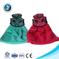 Low MOQ cheap kitchen and hotel princess dress design 100% cotton soft microfiber compressed hand towel