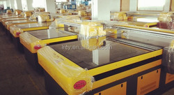 Inkjet label galss printer direct to glass The multi-function glass printer How much of glasses uv flatbed printer.