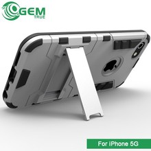 fancy tank holster unbreakable mobile phone case for iphone 5G