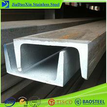 Channel steel american standard 316 stainless steel u channel