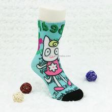 Summer cool animal cartoon pattern jaquard Baby Booties children socks China Made Factory