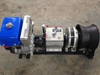 5 Ton Yamaha Engine Powered Cable Lifting Winch Custom Winch