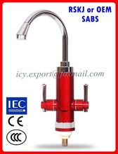 Double handle bathroom 220V 3000W instant heating water tap
