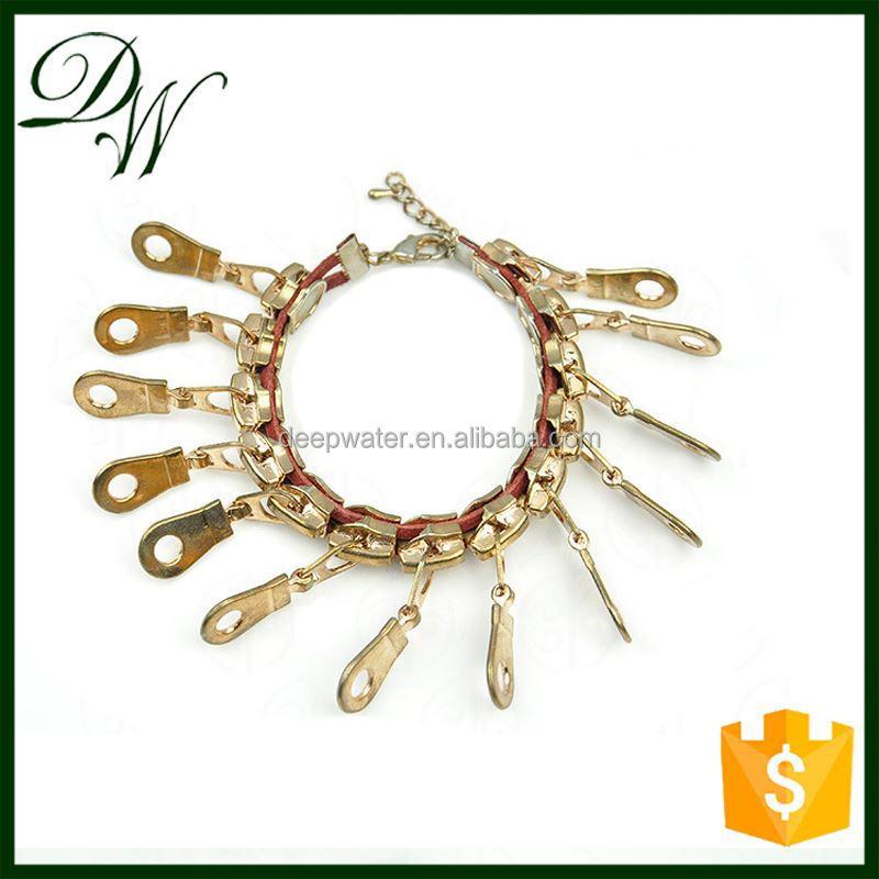 2015 newest fashionable mens zipper bracelet with six sliders,colurful sliders bracelet plastic, cross wholesale fashion jewelry