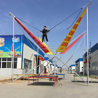 High Jump Trampoline Kids Big Folding Trampoline for Sale