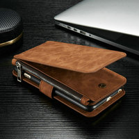 CaseMe Jeans Wallets for i Phone 6s Plus , Leather Wallets for iPhone 6/6S/6S Plus With 14 Card Slots