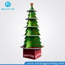 OEM Cardboard Christmas Tree Stand For Exhibition