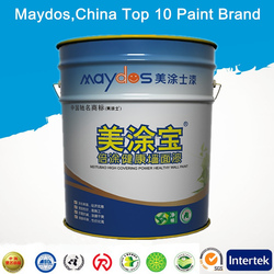 Stain resistant interior acrylic latex paint M9010