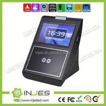 Wireless WIFI GPRS Touch Screen IR Camera Facial Fingerprint Time And Attendance(MYFACE5)