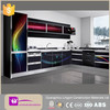 2015 modern affordable american standard high glossy black lacquer kitchen cabinets simple designs