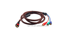 Wholesale HDMI AM to 3 RCA cable