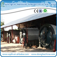 hot sale pyrolysis waste tyre to furnace oil with CE/ISO energy saving