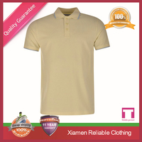 2015 OEM new arrival best quality fashion fitness anti shrink 200 gsm quick dry polo shirt faisalabad