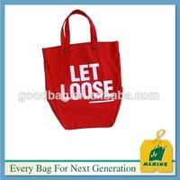 Factory price Nice design Canvas Tote Bags MJ-VI65