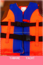 Waterproof oxford marine rescue life jacket for boat or ship,also for sports on the ship