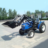 CE certificate TZ-3 30HP 4x4 4WD Small tractor Front end loader with Standard bucket