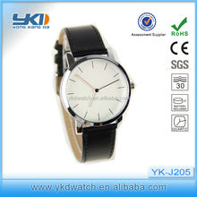 hot sell quartz watch stainless steel leather watch FOR SEX VIDEO MOVIE
