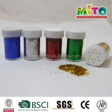 various color pet glitter powder for Stationery/Pen