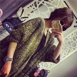Top selling products wholesale women clothing loose plus size long coat